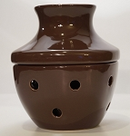 Decorative Mini Oil Diffuser Fan Chocolate Brown
